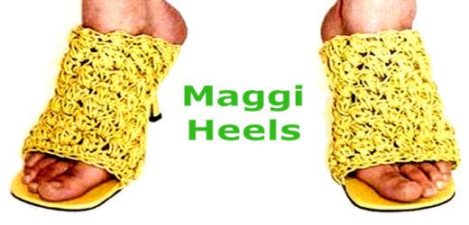 अब मैगी से बनी हील्स बनेगी फैशन.. देखें कैसे?
