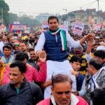 सांगानेर में बढ़ रहा कांग्रेस का जनाधार, दिल्ली तक दिखा दमखम