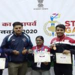 सेंटर शॉट टेलेंट ने लगाए राजस्थान स्टेट गेम्स 2020 में ताबड़तोड़ निशाने