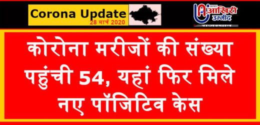 राजस्थान अपडेट: कोरोना मरीजों की संख्या पहुंची 54, यहां फिर मिले नए पॉजिटिव केस