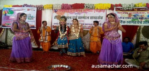 भरतपुर: 'लोहागढ़ प्रेस क्लब' ने मनाया 'होली मिलन' समारोह, पत्रकारों संग खेली फूलों की होली