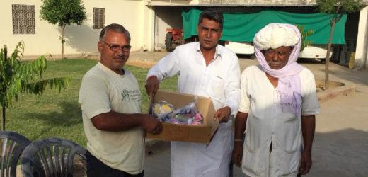 कोरोना महामारी के इस दौर में समाज सेवा का पर्याय बनकर उभरे हैं 'रामस्वरूप शर्मा'