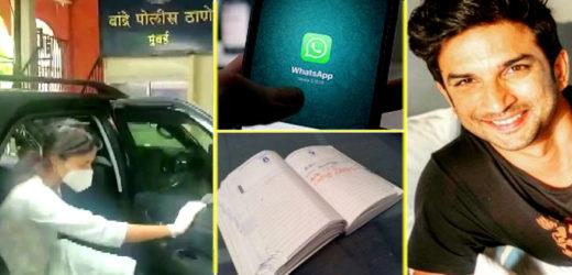 पुलिस के हाथ लगी सुशांत सिंह राजपूत की 5 डायरियां, गर्लफ्रैंड रिया चक्रवर्ती को बुलाया थाने